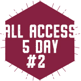 5 Day All-Access Plan 2