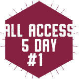 5 Day All-Access Plan 1