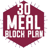 30 Meal Block Plan $265.00
